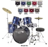 Percussion Plus 5 Piece Set with Cymbals (PP Drums)