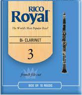 Rico Royal Clarinet Reeds Size 3 Box 10 (RRCL3.0BX)