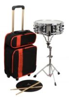 SNARE DRUM KIT WITH ROLLING BAG NEW (LE2477RBR)